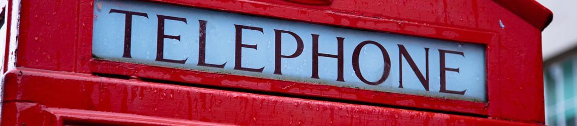 budka telefoniczna w londynie