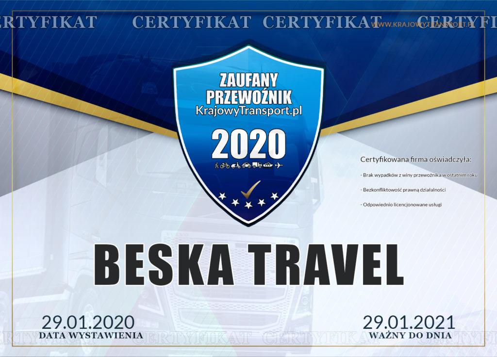 Beska certyfikat